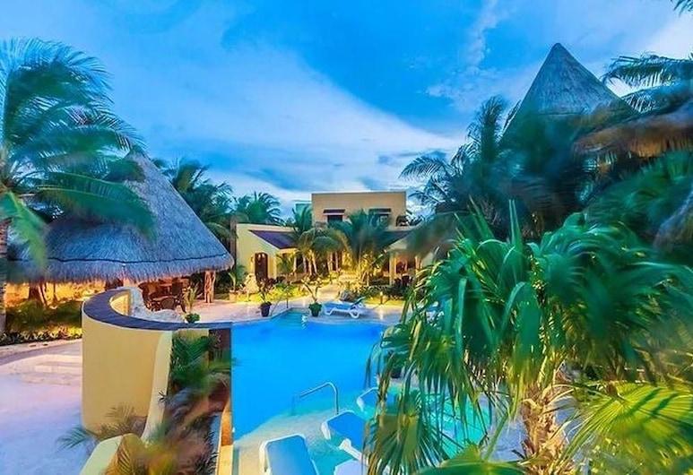 Isla Retreats - Villa 5, Isla Mujeres, Villa, Svømmebasseng
