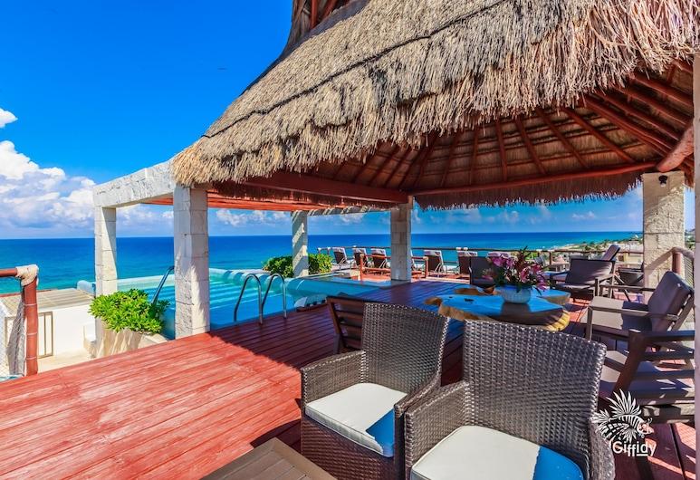 Deep Blue Condos - 202, Isla Mujeres, Utendørsbasseng