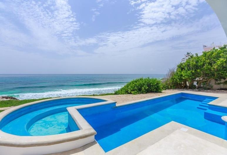 Casa Oasis Caribe, Isla Mujeres, Dom, Bazén