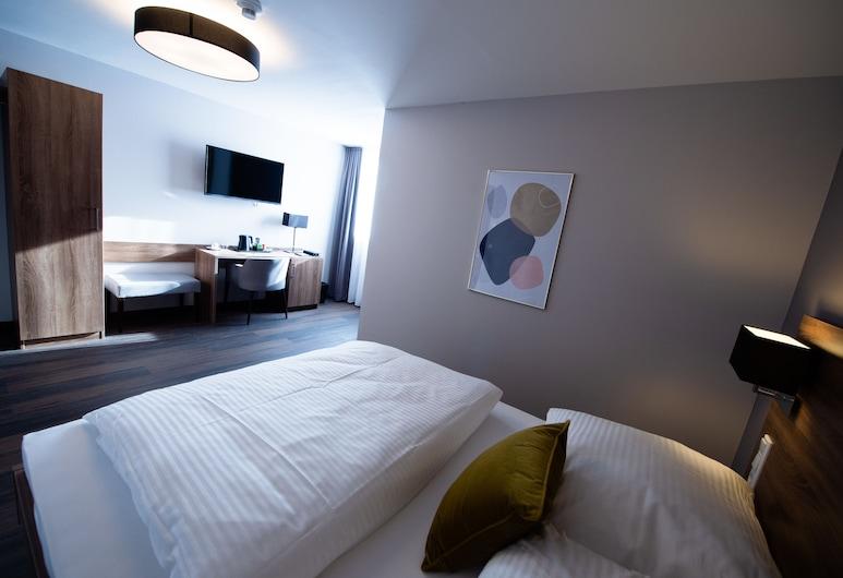 V Boutique Hotel, Boeblingen, Classic Tek Büyük Yataklı Oda, Sigara İçilmez, Oda