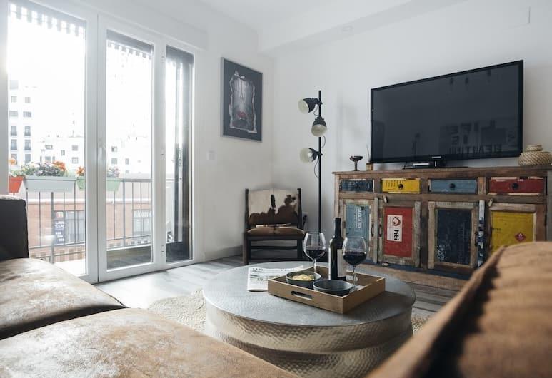 PLAZA DE ESPAÑA Apartment, Madrid, Apartment, Nichtraucher, Wohnzimmer