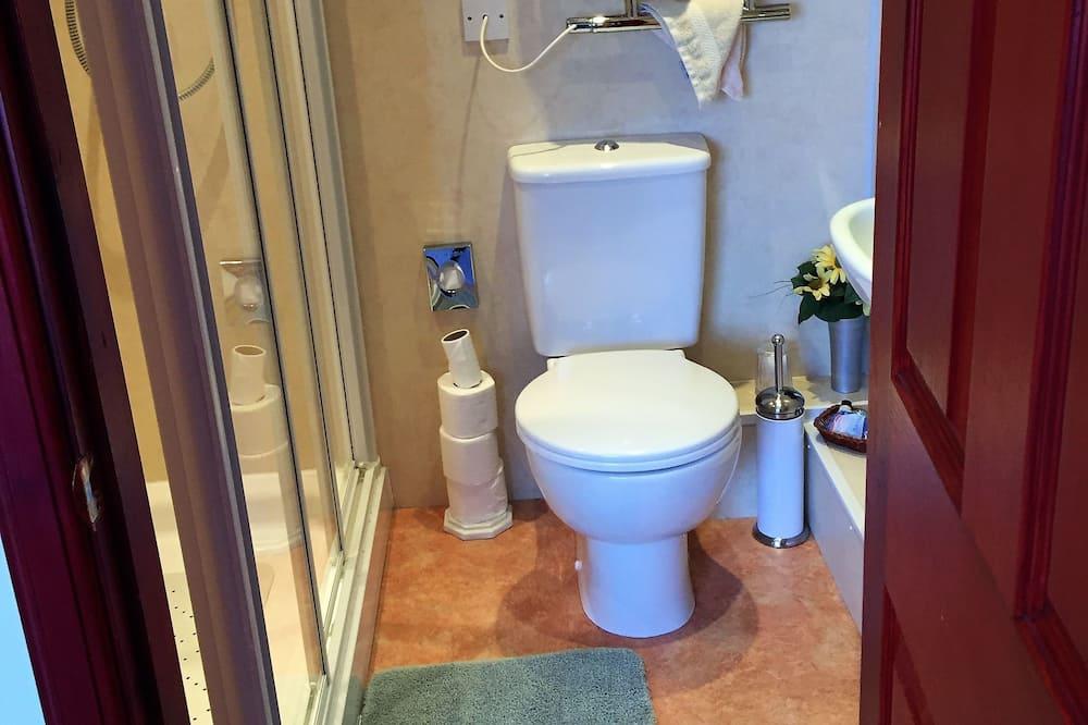 더블룸, 더블침대 1개, 앙스위트 - 욕실