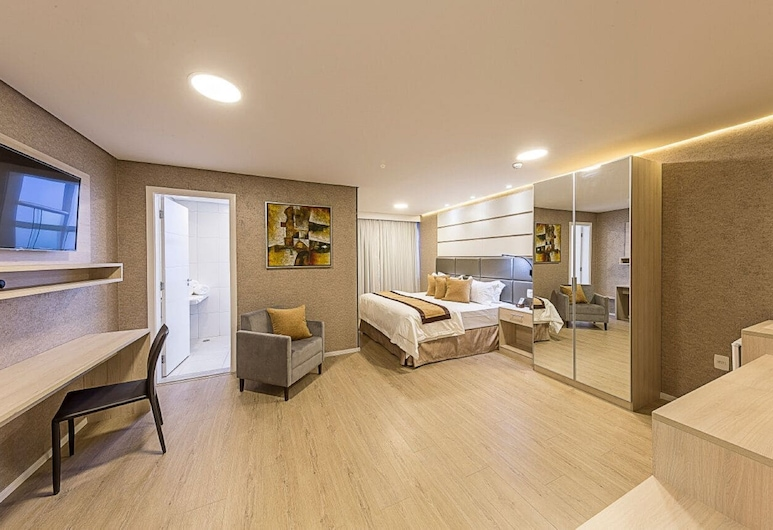 Hotel Global Grupos, Sao Paulo, Habitación superior, 1 cama doble, para no fumadores (Master), Habitación