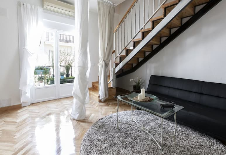 LAVAPIES Apartment II, Madryt, Apartament, 1 sypialnia, balkon, Powierzchnia mieszkalna