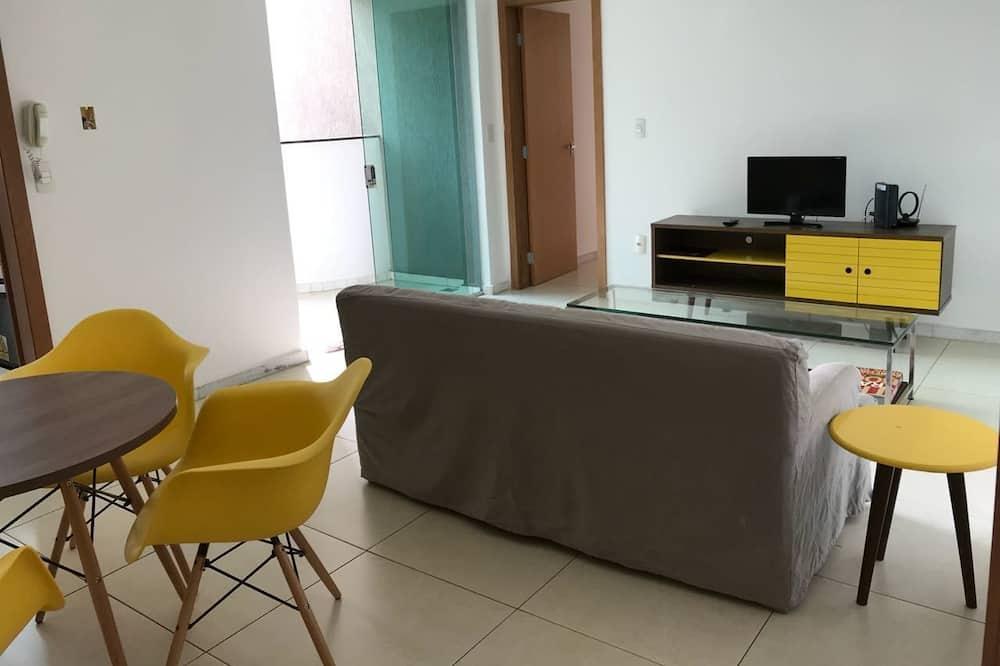 Appartamento, Letti multipli, non fumatori - Area soggiorno