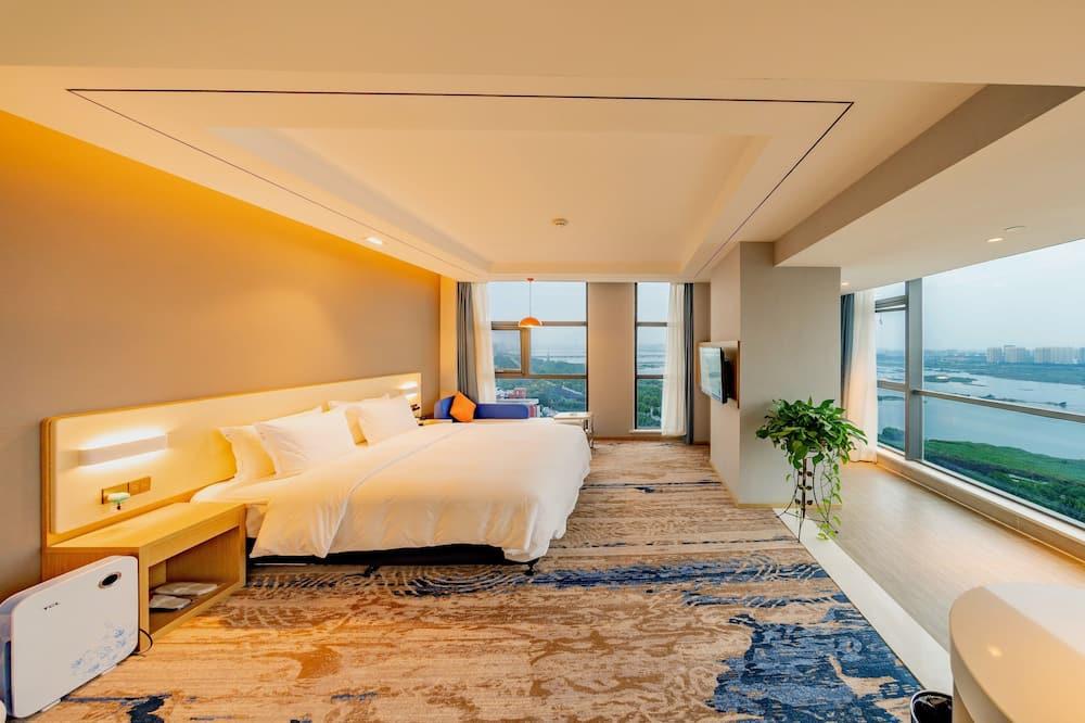 ห้องซูพีเรีย, เตียงคิงไซส์ 1 เตียง, วิวแม่น้ำ - ห้องพัก