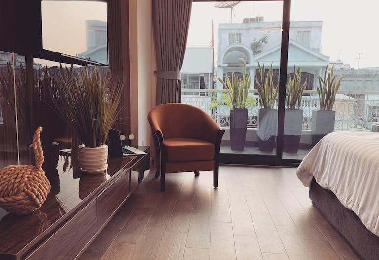 Royal Dragon Boutique Hotel, Ho Chi Minh City, Executive-rum, Utsikt mot staden