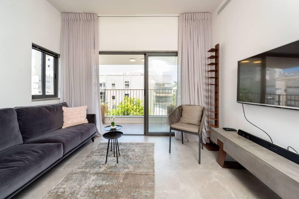Appartement, 2 grands lits, non-fumeurs - Salle de séjour
