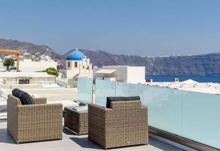Museo Grand Hotel, Santorini, Grand Suite (Caldera View), Balcony