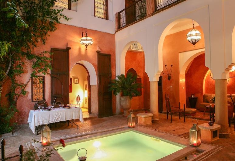 Dar Warda, Marrakech, Intérieur de l'hôtel
