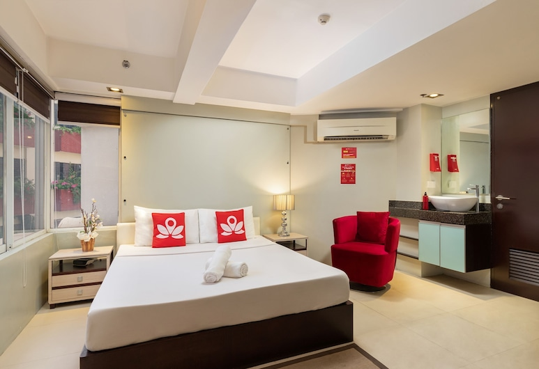 ZEN Premium near Rockwell Makati (ZEN Safety Assurance), Makati, Quarto, 1 cama king-size, Quarto