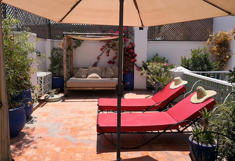 Riad Emeraude, Marrakech, Terrass
