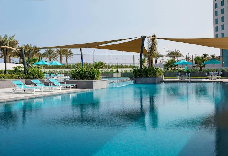 Views Hotel & Residences, Karaļa Abdulas tirdzniecības pilsēta, Terase/iekšējais pagalms