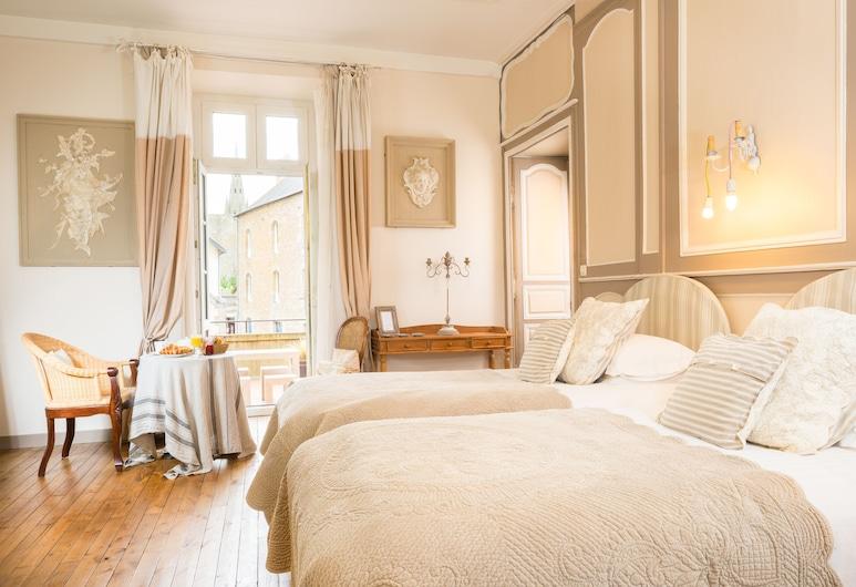 La Demeure, Guingamp, Δίκλινο Δωμάτιο (Twin) (Mélusine), Δωμάτιο επισκεπτών