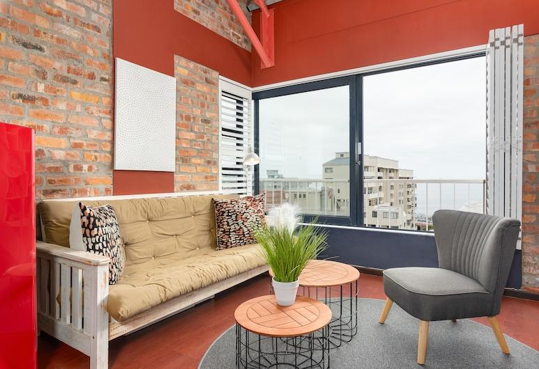 La Rhone, Cape Town, Comfort Studio, 1 King Bed, Non Smoking, Living Room
