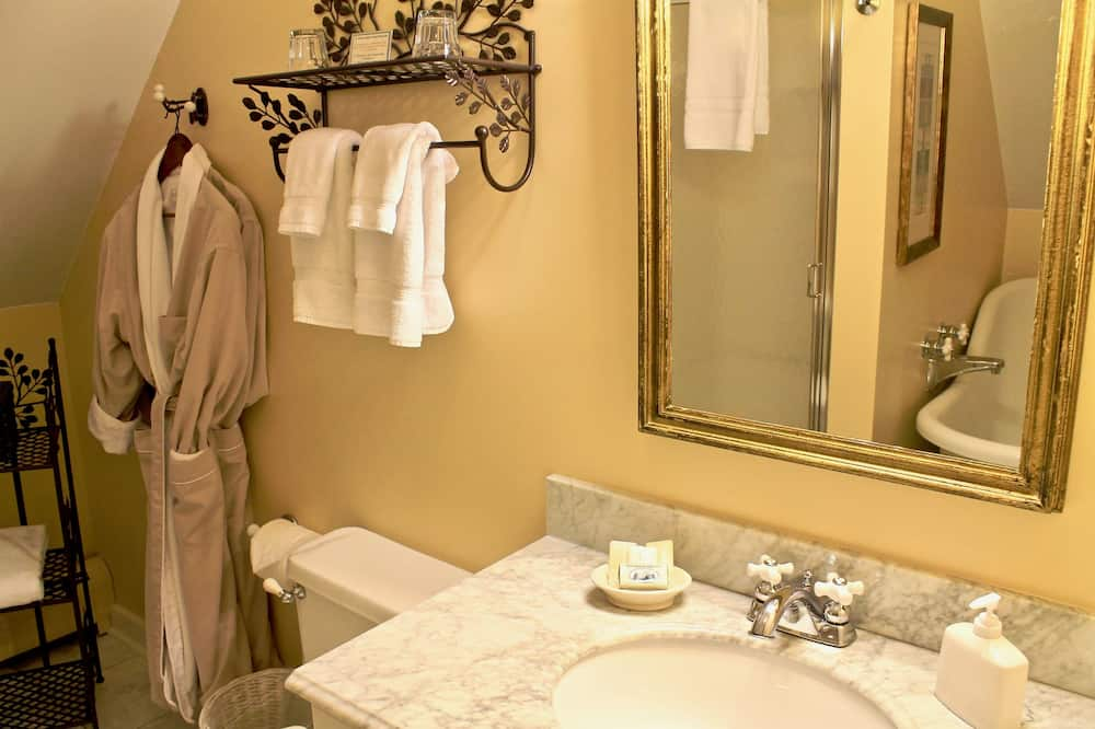 סוויטה, מיטת קינג (Suite Larkin) - חדר רחצה