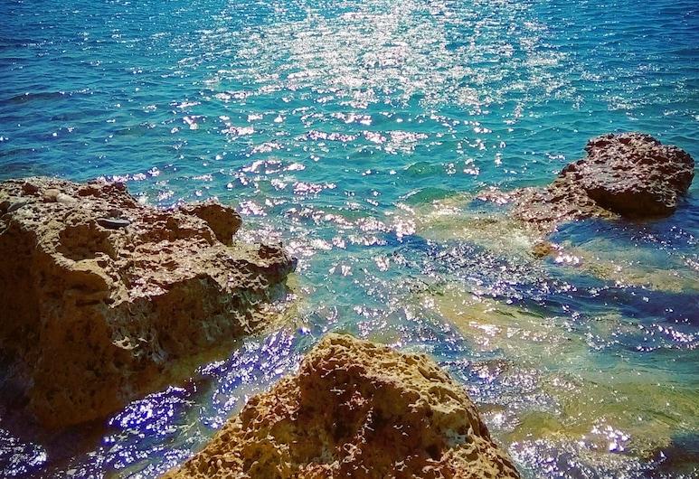 """Apartamento La Luna Blu """"sole"""", Vista al Mar, a 500 Metros de la Playa, Ierápetra, Playa"""