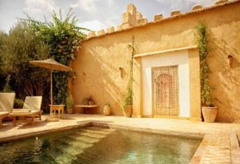 Beau Palais in Taroudant, beheiztes Schwimmbad, Hauspersonal, gepflegter Garten  , Taroudannt, Pool