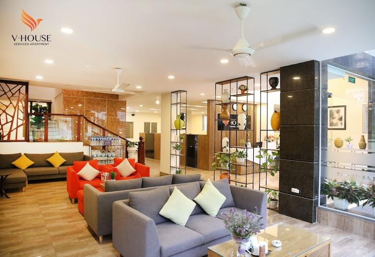 V House 5 Serviced Apartment, Hanoi, Prostor za sjedenje u predvorju