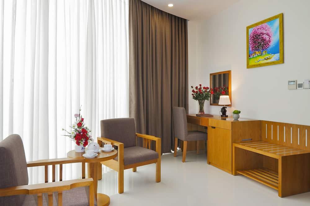 Dvivietis kambarys (Suite) - Svetainės zona