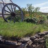 Двомісний номер, приватна ванна (Hlaðan) - З видом на сад
