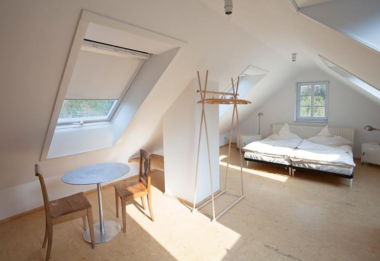 Die Burg Schöna - In a national park, Reinhardtsdorf-Schoena, Kolmen hengen huone, 3 yhden hengen sänkyä, Tupakointi kielletty (incl. Final Cleaning Fee 18 EUR), Vierashuone