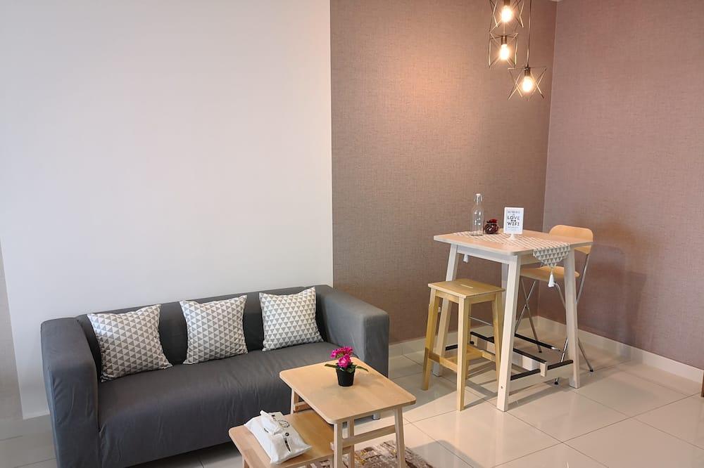 Standaard studio suite, Meerdere bedden, niet-roken - Woonruimte