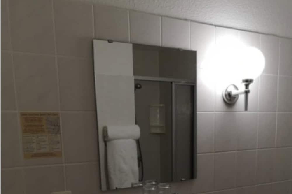 Dobbeltværelse til 1 person - 1 dobbeltseng - ikke-ryger - Badeværelse