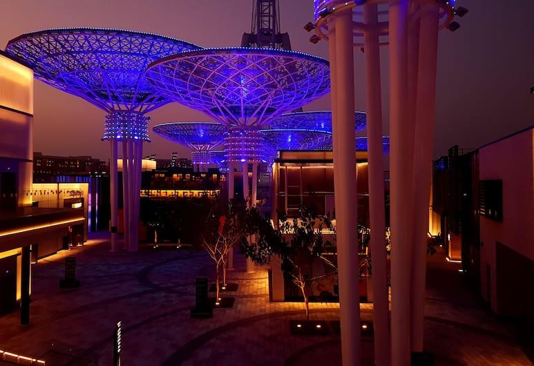 Maison Privee - Bluewaters , Dubajus, Apgyvendinimo įstaigos fasadas vakare