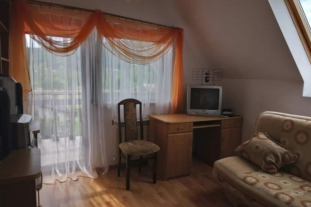 Double Room, 1 Double Bed, Balcony - Living Area