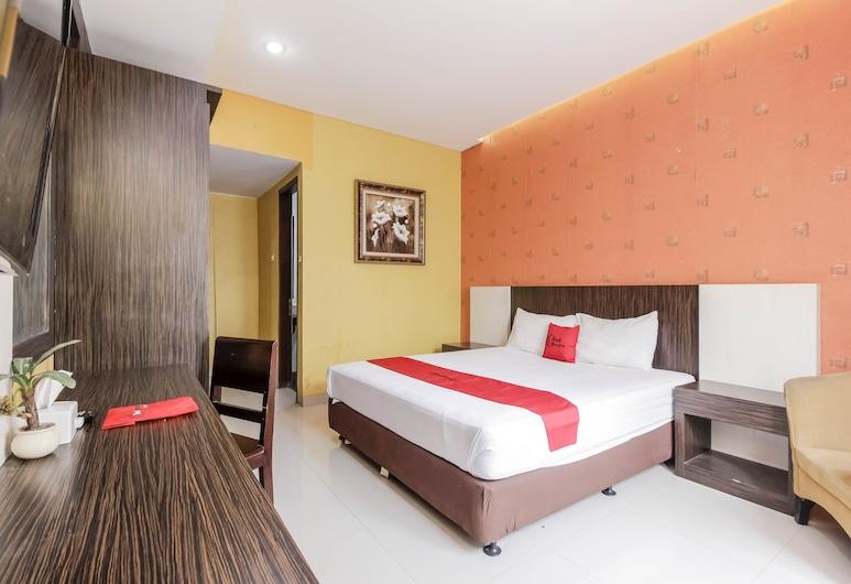 RedDoorz Near Pasar Pagi Cirebon, North Cirebon, Economy-Doppelzimmer, Zimmer