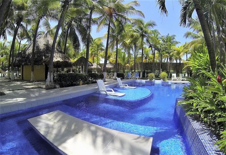 Beach House LM013, Puerto San Jose, Outdoor Pool