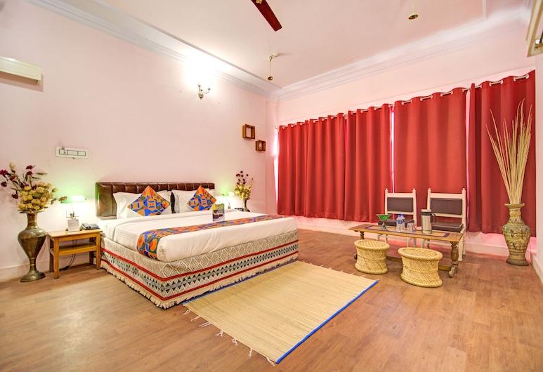 FabHotel Pink Palace, Jaipur, Quarto família, Vista (do quarto)