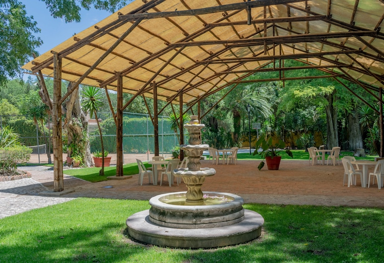 El Relox Hotel & Spa, Tequisquiapan, Vakarienės lauke