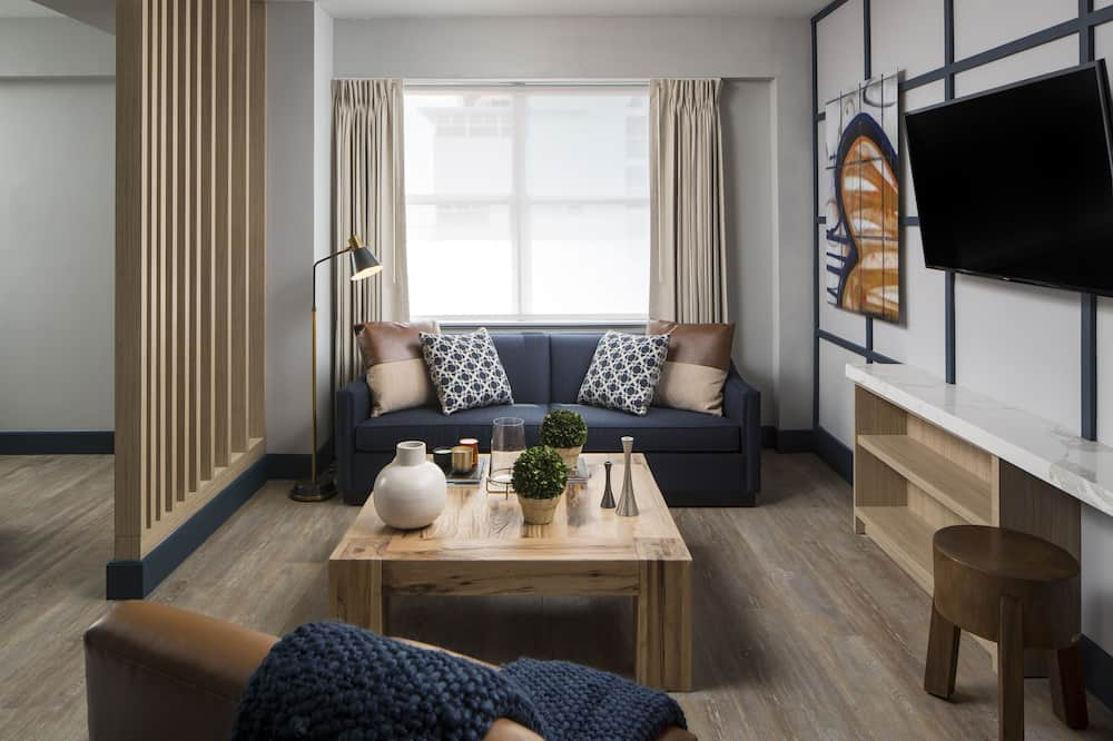 スイート キングベッド 1 台 (Superior Suite) - リビング エリア