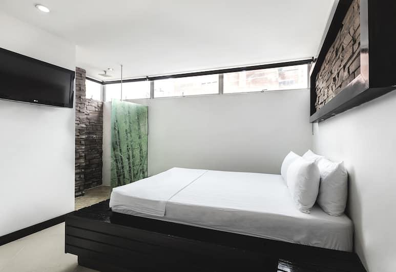 Hotel Kong, Medellin, Classic Tek Büyük Yataklı Oda, 1 Çift Kişilik Yatak, Sigara İçilmez, Oda