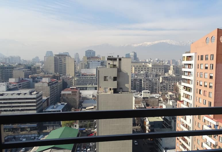 Moneda Express Apart, Santiago, Panoramic Apartment, 1 Bedroom, View from room