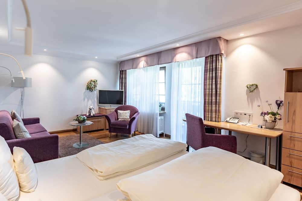 Doppelzimmer (F) - Wohnbereich