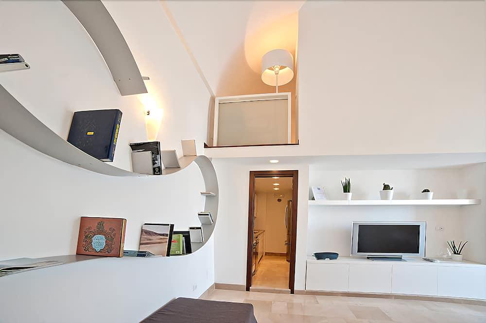 Suite, Balcony, Sea View - Living Area