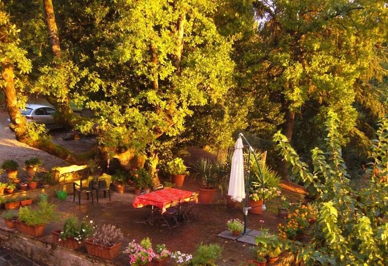 Il Casale di Silla, Perugia, Dārzs