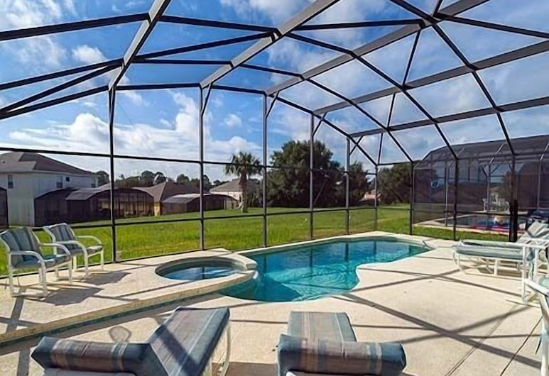 Ly239890 - Emerald Island Resort - 4 Bed 3 Baths Villa, Kissimmee, Perhehuvila, Yksityinen uima-allas, Puutarha-alue, Uima-allas