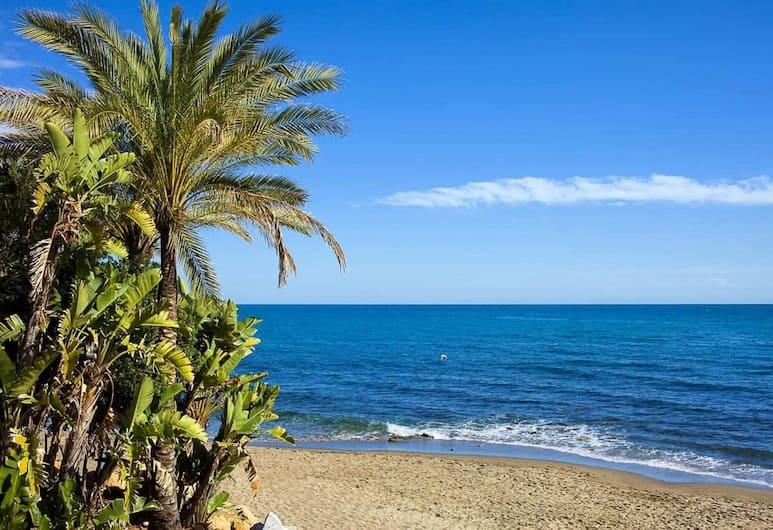 OleHolidays Lorcrimar jardín y barbacoa junto a Puerto Banús, Marbella, Strand