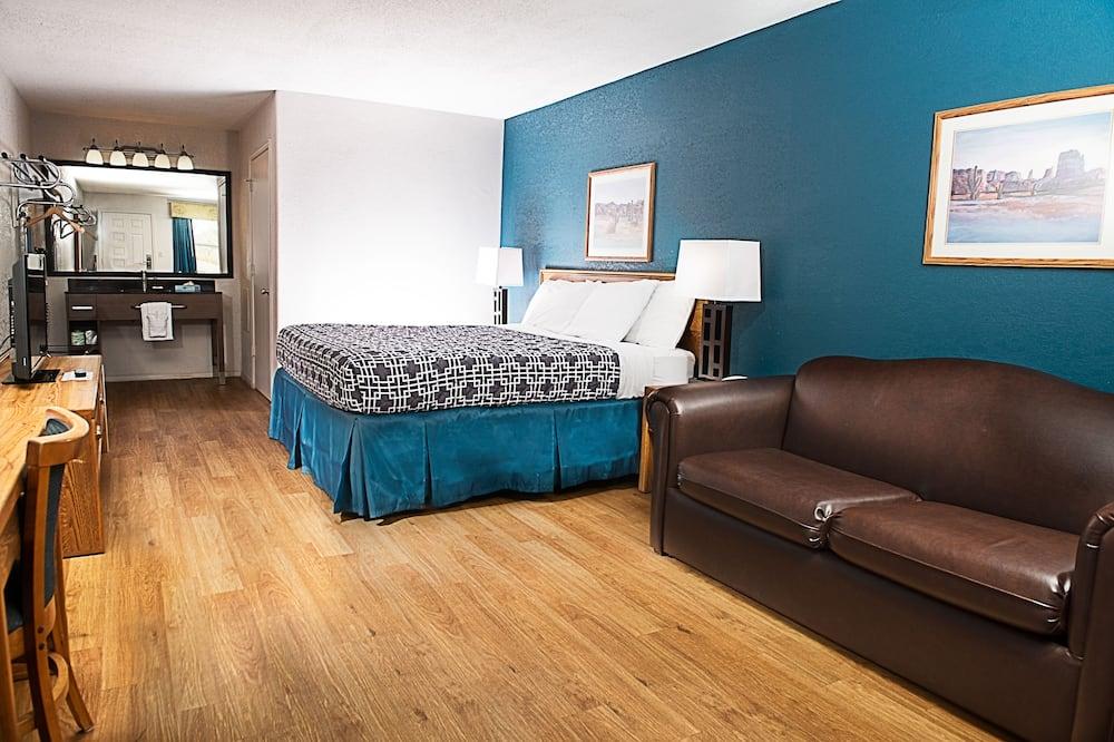 Habitación, 1 cama King size con sofá cama, con acceso para silla de ruedas, para no fumadores - Habitación