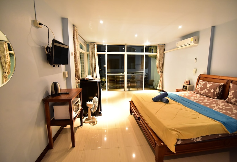 Sorot House, Pattaya, Deluxe Double Room, Guest Room