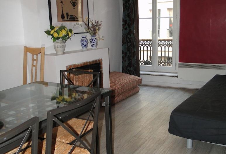 羅浮公寓酒店, 巴黎, 公寓, 客廳