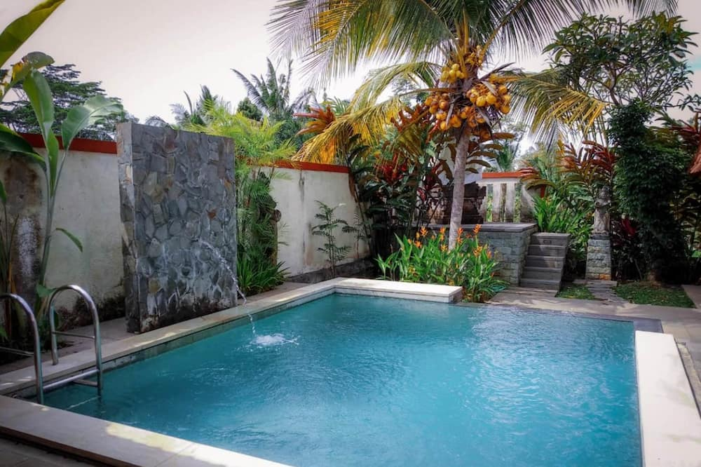 Luksuzna vila, 2 spavaće sobe, privatni bazen, pogled na dvorište - Privatni bazen