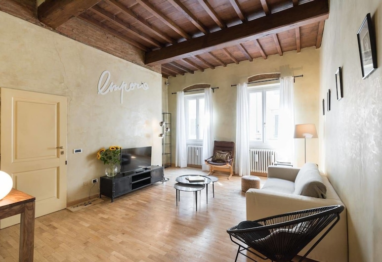 Palazzuolo 112 - Keys OF Italy, Florence, Apartment, 1 Bedroom, Non Smoking, Living Area
