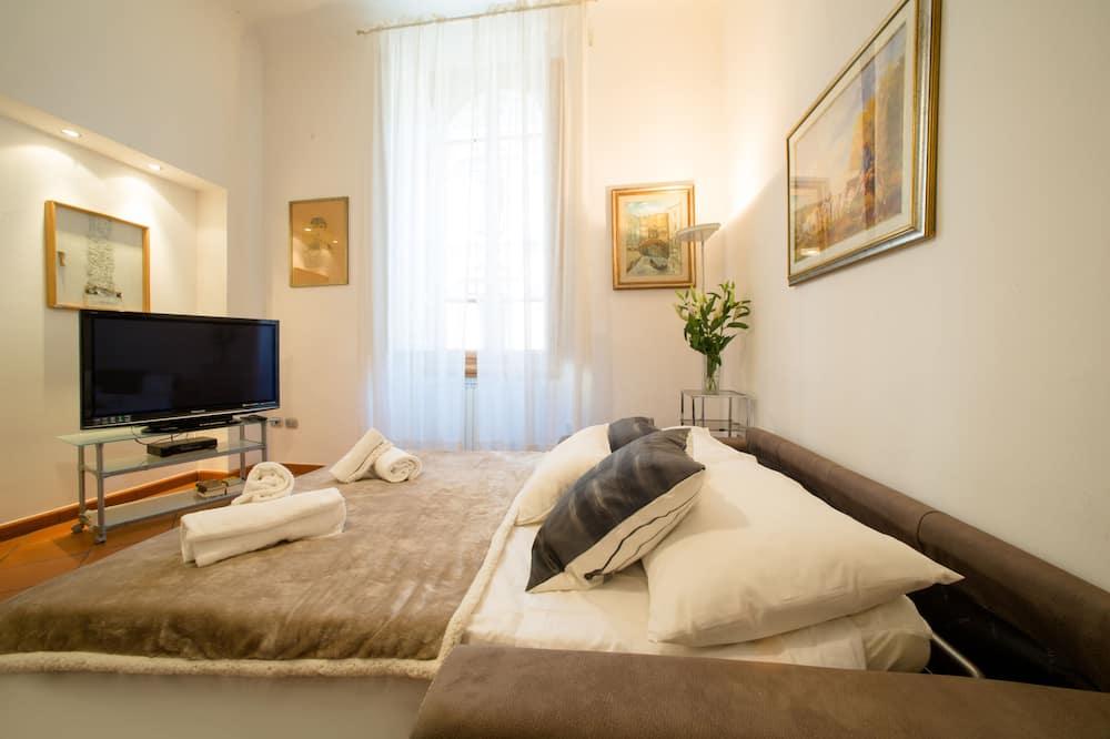Апартаменты, 1 спальня, для некурящих - Зона гостиной