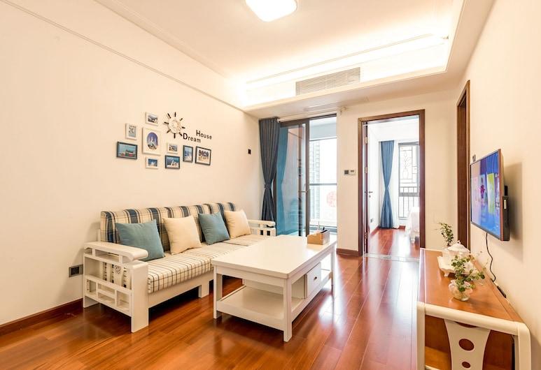 Besten Apartment Shenzhen North Station, Shenzhen, Living Room