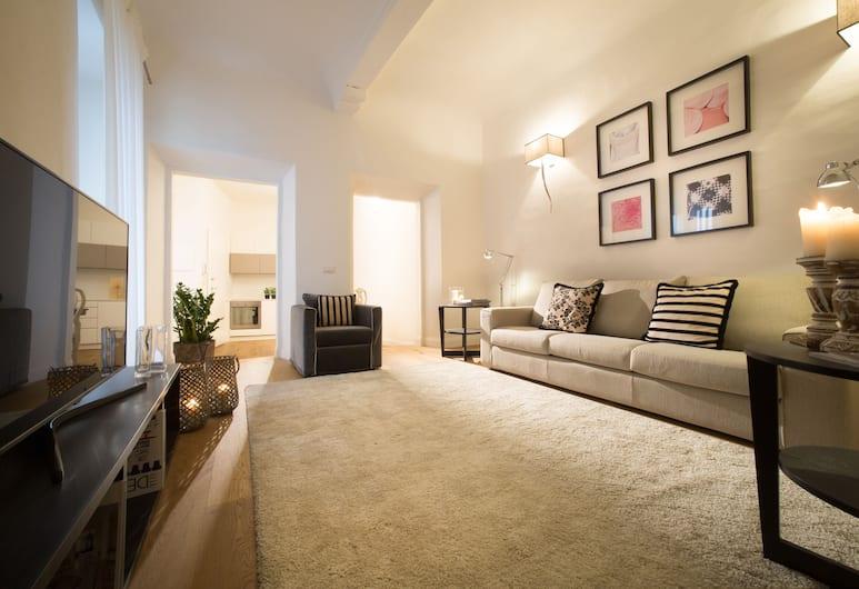 Tornabuoni 5 C - Keys of Italy, Florencija, Apartamentai, 1 miegamasis, Nerūkantiesiems, Svetainės zona